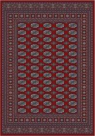 Oriental Bouchara röd finns i  67 x 105, 100 x 140, 140 x 200, 167 x 235, 80 x 200, 80 x 250, 80 x 300