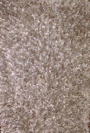 Silke Shaggy Fjäder grå 60 x 100, 140 x 200, 160 x 230