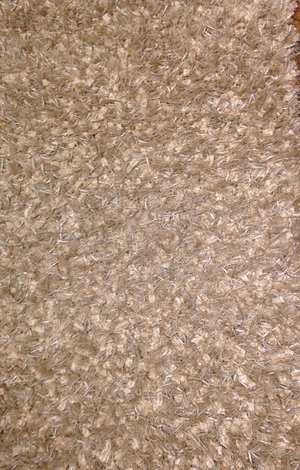 Silke Shaggy Fjäder ljus aprikos 60 x 100, 140 x 200, 160 x 230