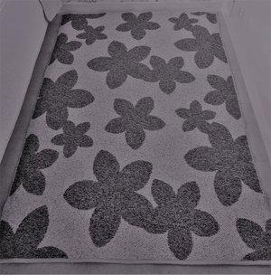 Flora 140 x 200 grå