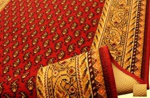 Inka röd finns i 67, 80 och 100 cm bred
