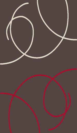 Cosi Slingor mörkbrun/grå 140 x 190 och 160 x 220