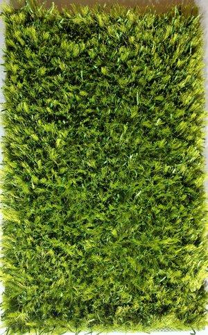 Silke Shaggy grön 60 x 100, 140 x 200, 160 x 230