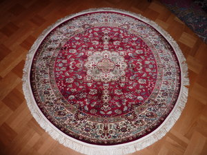 Aria röd 150 cm rund