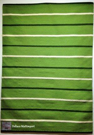 Röllakan från Horredsmattan i grön 140 x 200