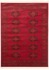 Afghan röd 135 x 195, 160 x 230 och 200 x 290