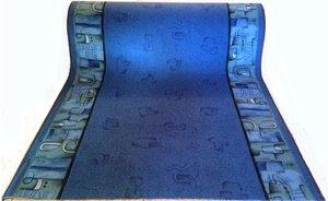 Faria blå 1 meter bred