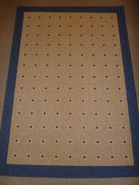 Floorlux rutor blå 160 x 230, 80 x 150, 80 x 250