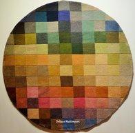 Palette 150 cm rund, 140 x 200