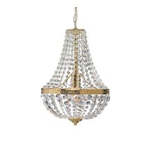 Hanaskog krona 1 lampa guld MC