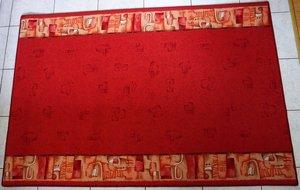 Faria röd 100 cm och 120 cm bred