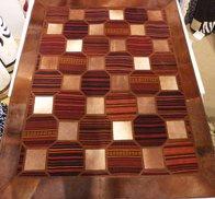 Persisk Kelimskinn-patchwork 140 x 200 cm