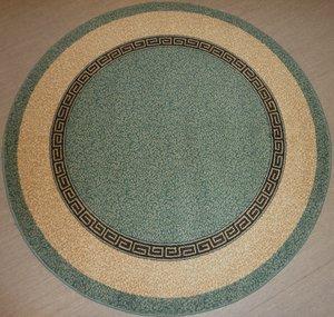 """""""Super Istanbul"""" Goezde"""" grön 150 cm rund och 200 cm rund"""