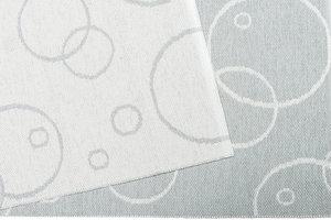 Bubble grå 140 x 190