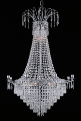 Kristallkrona  Empire krom